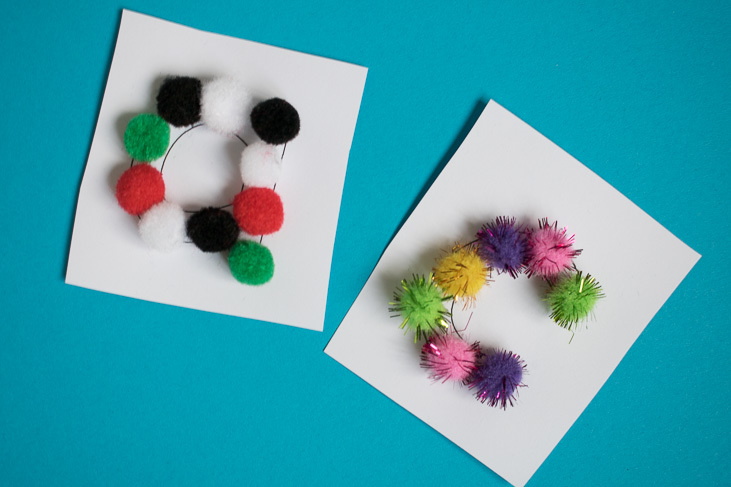 finished pom pom letters-1