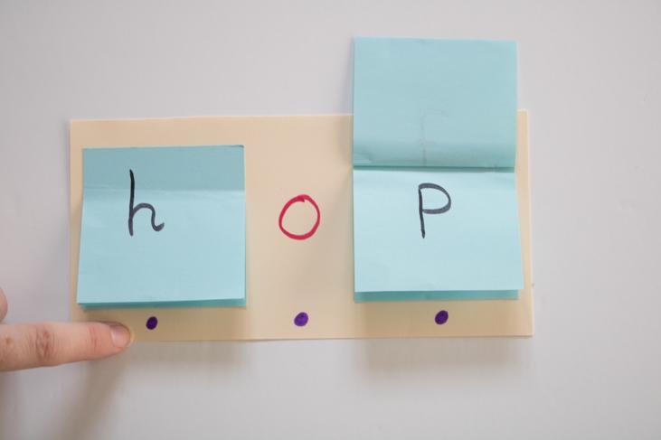 Flip word cards