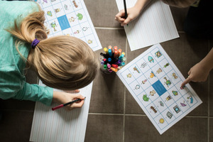 Sound mats can help to solve spelling problems for your kids