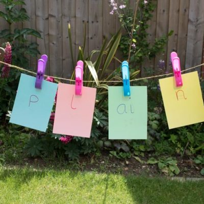 Washing Line Spelling