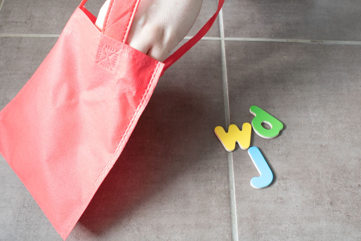 sensory bag phonics games for learning to read