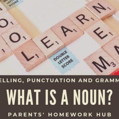 What's a Noun?
