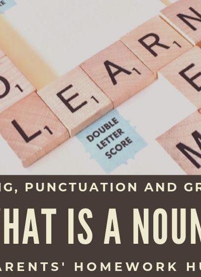 what is a noun - spag homework help