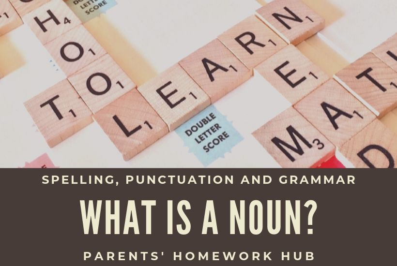 what is a noun - spag homework help