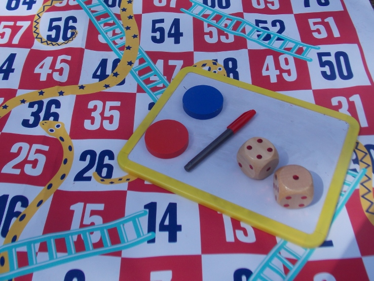 what we need for timesing with snakes and ladders